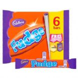 Cadbury Fudge x 6 Pack 147g